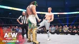 AEW DYNAMITE ANNIVERSARY | ORANGE CASSIDY GOES HUNTING FOR A LUCHASAURUS