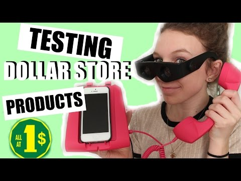 TESTING DOLLAR STORE PRODUCTS!