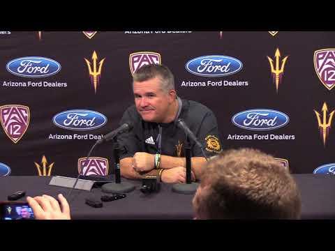 Coach Todd Graham   Postgame   Football vs. Texas Tech