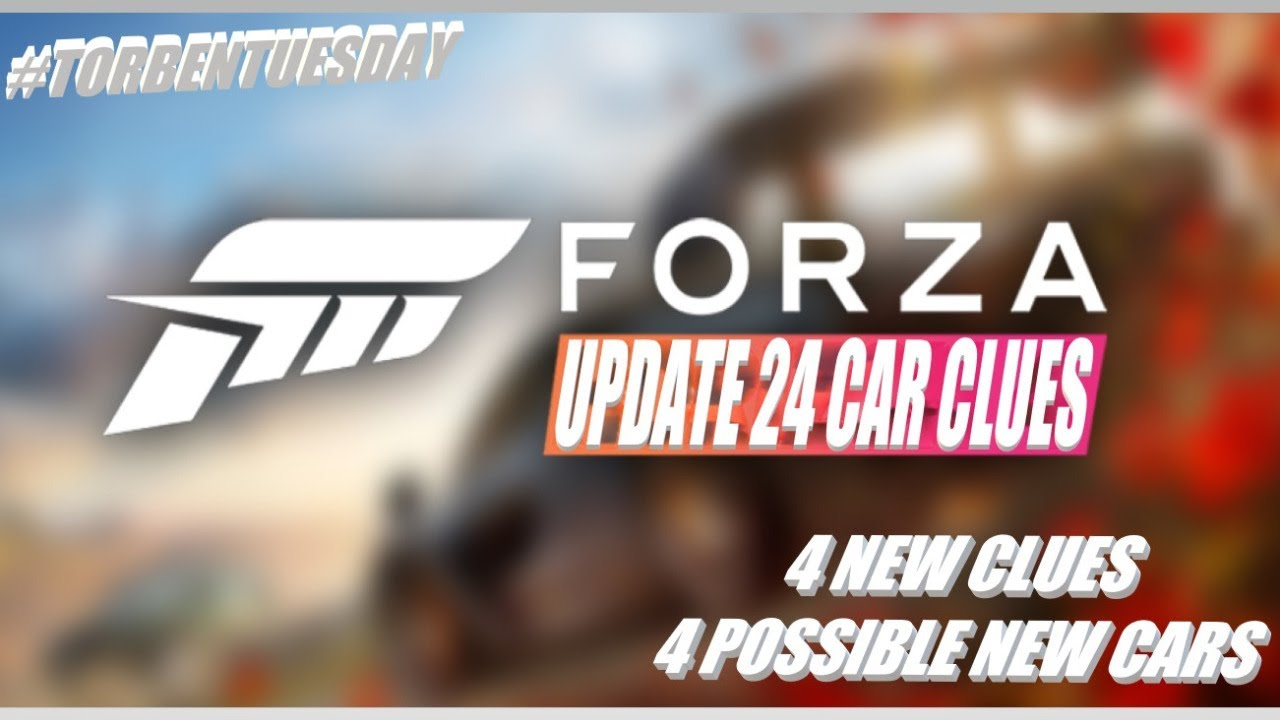 Forza Horizon 4 - Update 24 Car Clues #TorbenTuesday