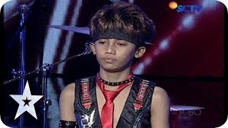 Cool Drummer Kid from Rachzonja Adhy Kirana Putra - AUDITION 7 - Indonesia's Got Talent MP3