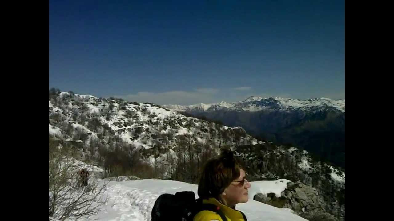 Escursione a punta cermenati monte resegone da fuipiano for Rifugio resegone valle imagna