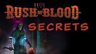 PSVR UNTIL DAWN:RUSH OF BLOOD *SECRETS*
