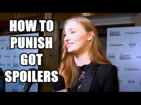 How To Punish Game of Thrones Spoilers - Sansa, Ygritte, Podrick, Jorah, Ellaria, Grey Worm, Davos