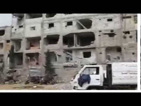 Video Syrian pianist plays amid rubble in Yarmouk refugee camp