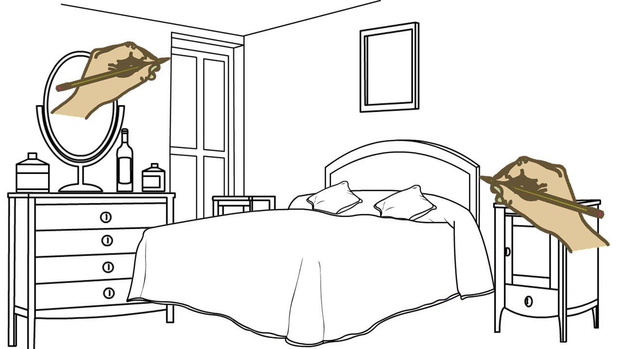 أفضل تاجر جملة منفذ للبيع انخفاض السعر مع رسم غرفة نوم Shpe