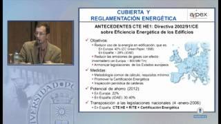 La cubierta aislada. Soluciones flexibles y duraderas con XPS. Carlos Castro, Arquitecto.