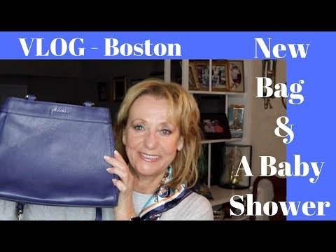 boston-|-new-bag|-baby-shower-|-vlog-mature-beauty-|-sixty-plus