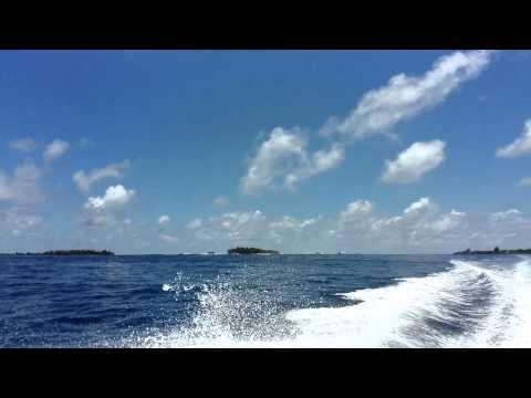 Surf point near Hura, Maldives