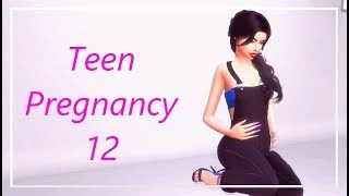 Risky Woohoo? Teen Pregnancy # 12 | Let's Play The Sims 4