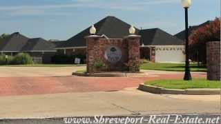 Plantation Trace Garden Homes Subdivision Neighborhood - Bossier City, LA