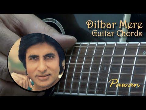 Dilbar Mere - Satte Pe Satta - Guitar Chords Lesson - Pawan