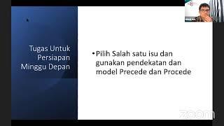 Sesi VIII : Model Preceed dan Proceed