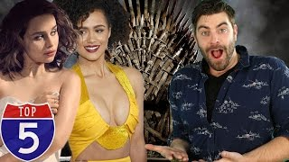 Top 5 Game of Thrones Babes