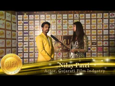 Gujarati Iconic Film Awards-GIFA Interview.Nilay Patel