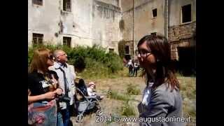 Augusta : visita al castello Svevo