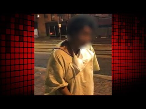 Video Shows Woman Left Outside university of Maryland Medical Center-Midtown In Hospital Gown