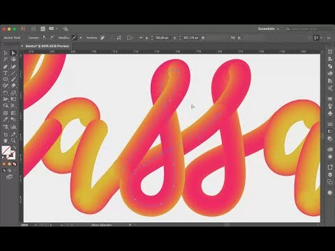 TUTO : Blend Tool on Illustrator