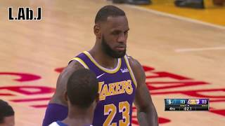 LeBron James has no clutch and is a bad leader - Los Angeles lakers