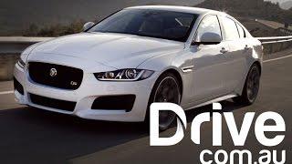 Jaguar XE 2015 First Drive Review | Drive.com.au