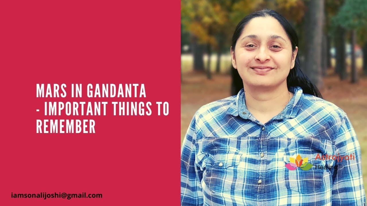 Gandanta Vedic Astrology