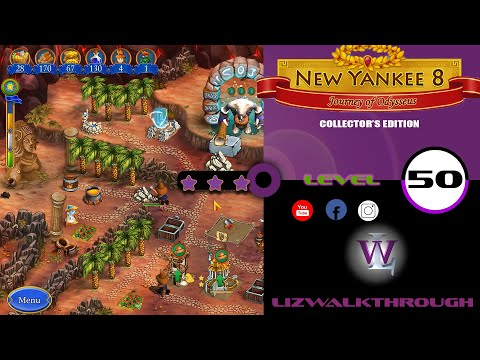 New Yankee 8 - Level 50 Walkthrough (Journey of Odysseus) |