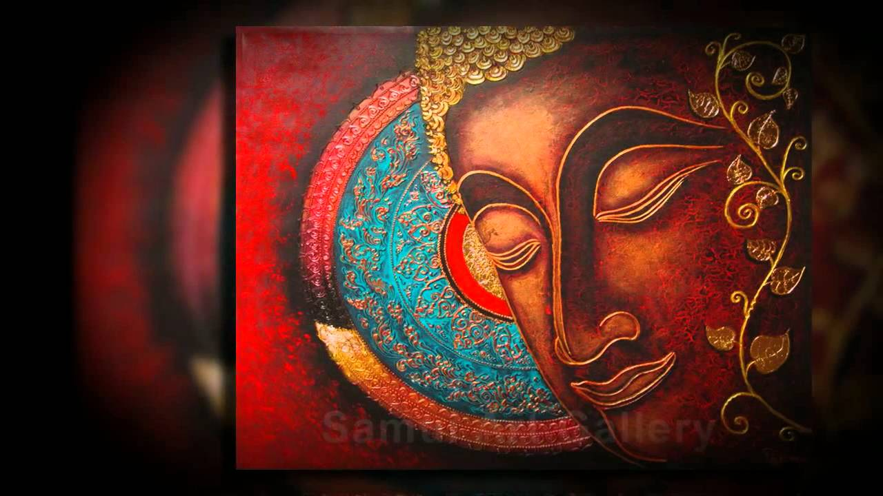buddha paintings for gorgeous home decor youtube