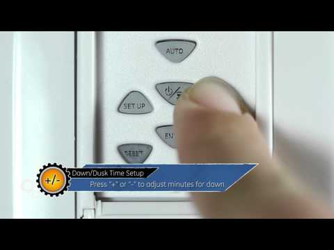 15312 Initial Setup (part 1 of 5) - GE SunSmart Timer - YouTube on