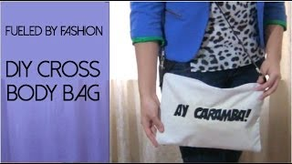 DIY cross body screen print bag + how I style! Thumbnail