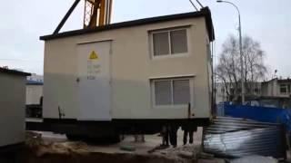 Порядок установки и монтаж БКТП с фундаментной плитой(, 2014-12-04T12:31:15.000Z)