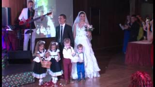 Свадьба Саши и Ирины Выход жениха и невесты