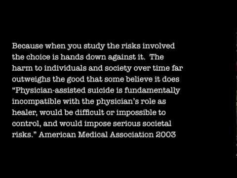 No Physician Assisted Suicide - Massachusetts Vote no on 2