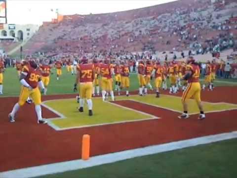 USC vs Notre Dame fight 2008