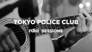 "Tokyo Police Club - ""Hot Tonight"" [Rdio Session Teaser]"