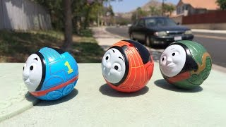 New Thomas and Friends Toy Trains Play Set 2015 with Thomas the Tank Engine, James, Emily