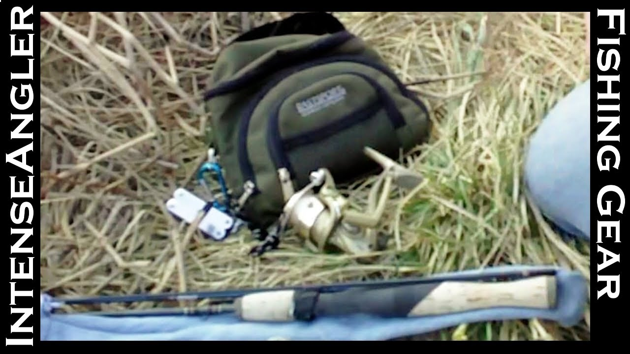 Backpacking fishing gear rod reel tackle youtube for Backpacking fishing kit