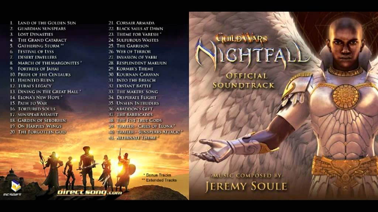Guild Wars Nightfall OST