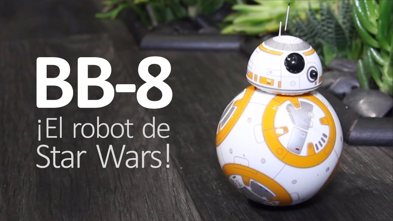 BB-8 de Sphero ¡El robot Star Wars es REAL! (español) - YouTube 73c6c900747e