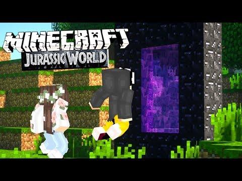 minecraft-jurassic-world-#9---die-suche-nach-diamanten-&-ab-ins-nether!- -minecraft-jw
