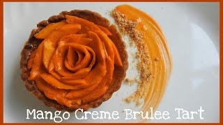 Mango Creme Brulee Tart | Baking Tutorials | Bakelicious