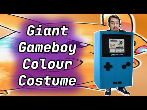 Making a Giant Game Boy Color Costume that Works