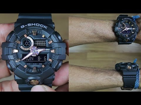 CASIO G-SHOCK GA-710B-1A4 - UNBOXING VIDEO - YouTube 03f569e2598
