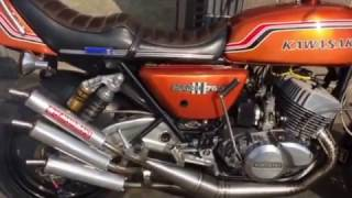 マッハ3 ss750 チャンバー 音 ツーストバイク 白煙 バイク