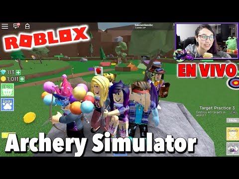 Full Download Los Arqueros Mas Pros De Roblox Archery Simulator - archery simulator roblox