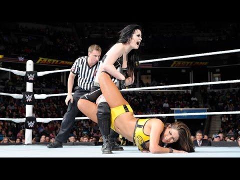 Paige vs. Nikki Bella - Divas Championship: Fastlane, February 22, 2015