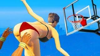 Приколы в GTA 5 | WDF 21 | Необычный баскетбол