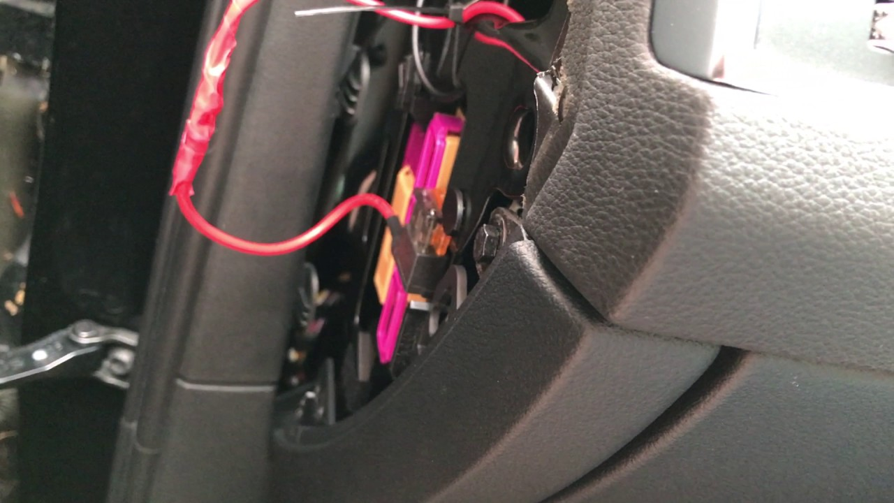 fitting a nextbase dash cam hardwire kit to a audi q5 sq5 uk right hand drive  [ 1280 x 720 Pixel ]
