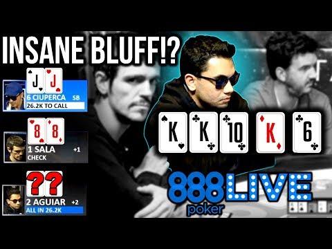 An INSANE Bluff! 888Live Barcelona Day 1 | 888poker