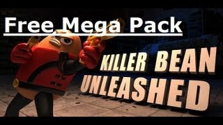 Free Mega Pack For Killer Bean Unleashed - Android Via Freedom
