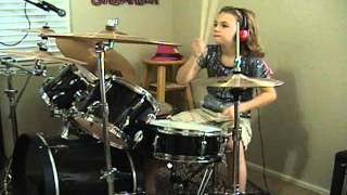 "Collective Soul ""Heavy"" A Drum Cover by Emily"